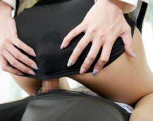 【蓮実クレア】エロ尻強調!パツパツタイトミニの超美脚女教師が激エロ対面騎乗位でチ◯ポを窒息っ!